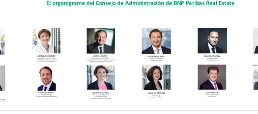BNP Paribas Real Estate renueva su cúpula directiva
