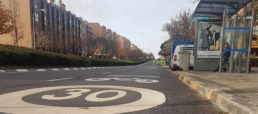 Las pinturas fotocatalíticas de Proquicesa reducen la contaminación del aire en Madrid