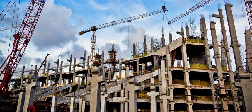La obra pública modera su crecimiento en octubre