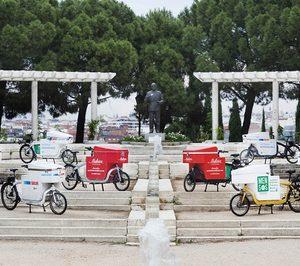 Mensos lleva a nuevas ciudades su reparto sostenible