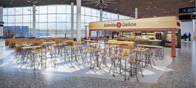 Airfoods renueva la restauración del aeropuerto de Santiago