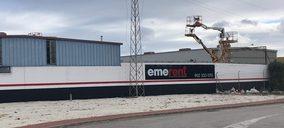 EmeRent impulsa su red comercial con dos nuevos almacenes