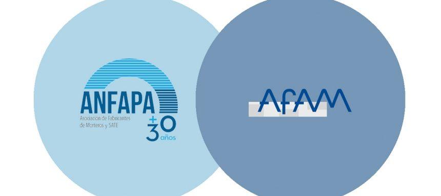 Anfapa y Afam se fusionan en una única asociación de fabricantes de morteros