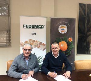 Fedemco y DOP Kaki de la Ribera del Xúquer firman un convenio de colaboración