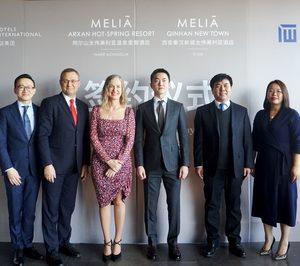 Meliá Hotels firma dos nuevos hoteles en China