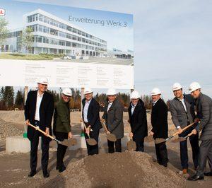 Rational sigue construyendo y apostando por su sede en Landsberg