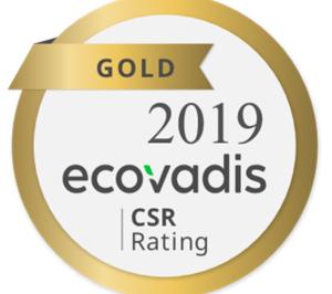 Epson recibe la clasificación EcoVadis Gold