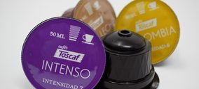 Cafés Toscaf aumenta su potencial en cápsulas