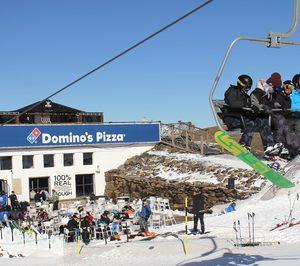 Dominos Pizza se estrena en estaciones de esquí
