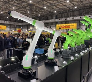 Fanuc presenta su nuevo cobot CRX-10iA