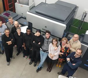 Gráficas Netor invierte en un equipo digital HP Indigo 7900