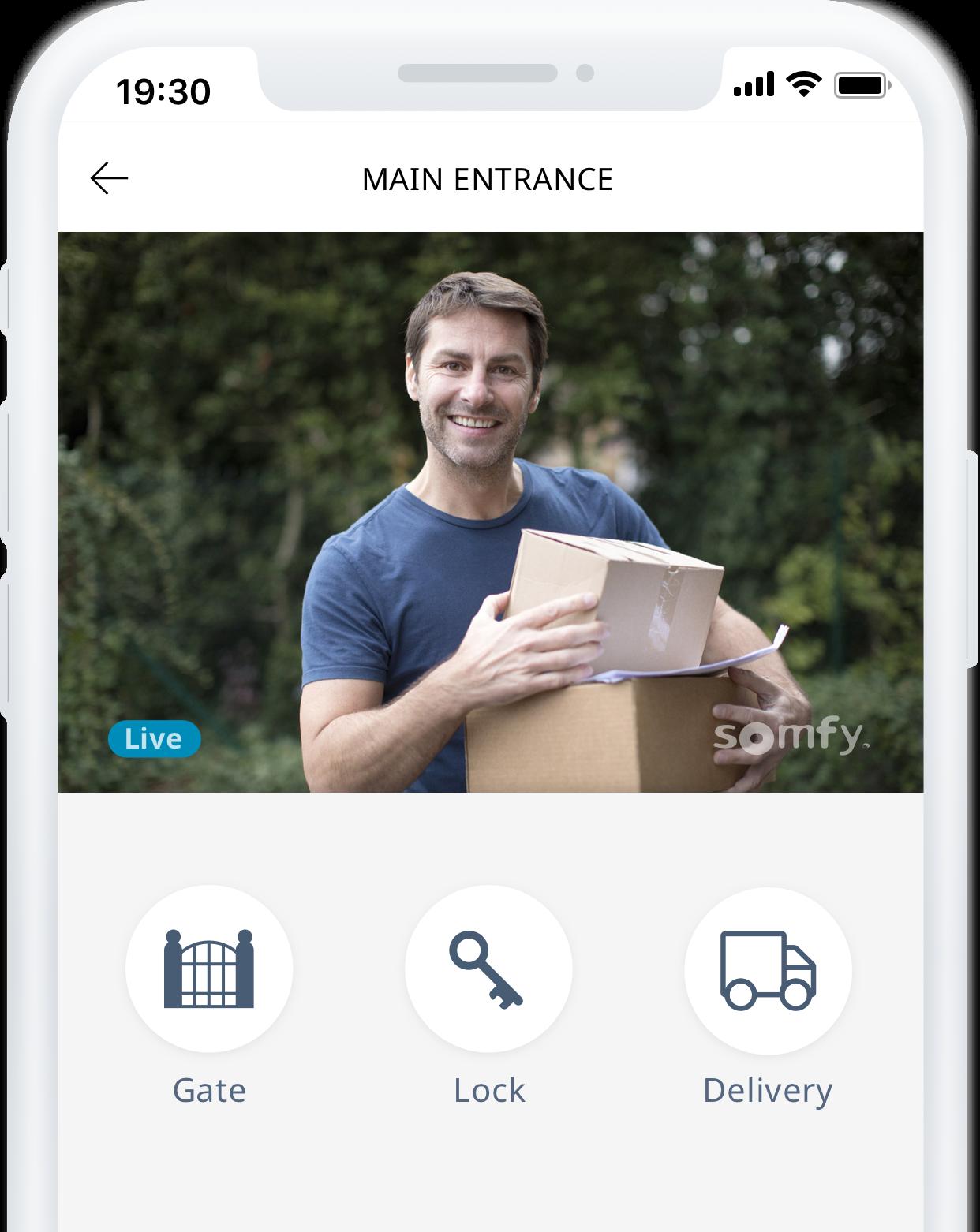 Somfy presenta soluciones para la seguridad y el acceso al hogar