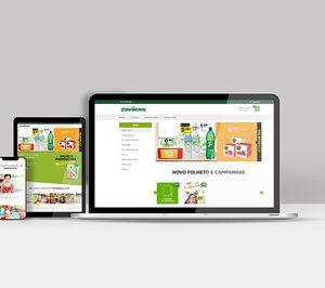 Covirán lanza su web corporativa para Portugal