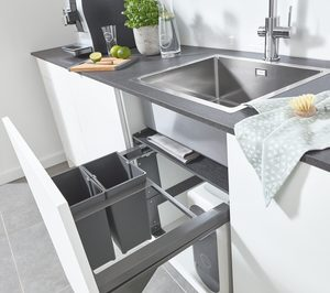 Grohe lanza sistema de gestión de residuos para la cocina