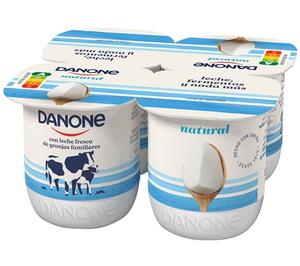 Danone incorporará Nutri-Score en todos sus productos