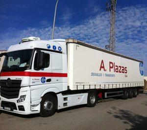 Transportes Angel Plazas baraja incorporar vehículos GNL