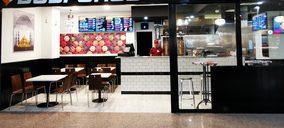Una joven cadena de kebabs amplia su red en centros comerciales