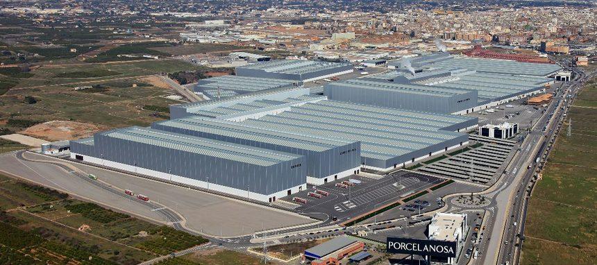 Porcelanosa levantará nueva fábrica para gran formato