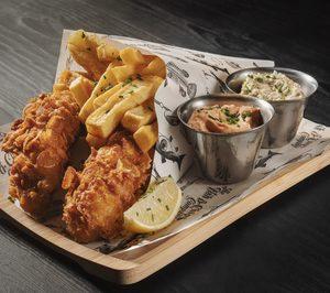 Abre en Madrid un restaurante especializado en fish and chips