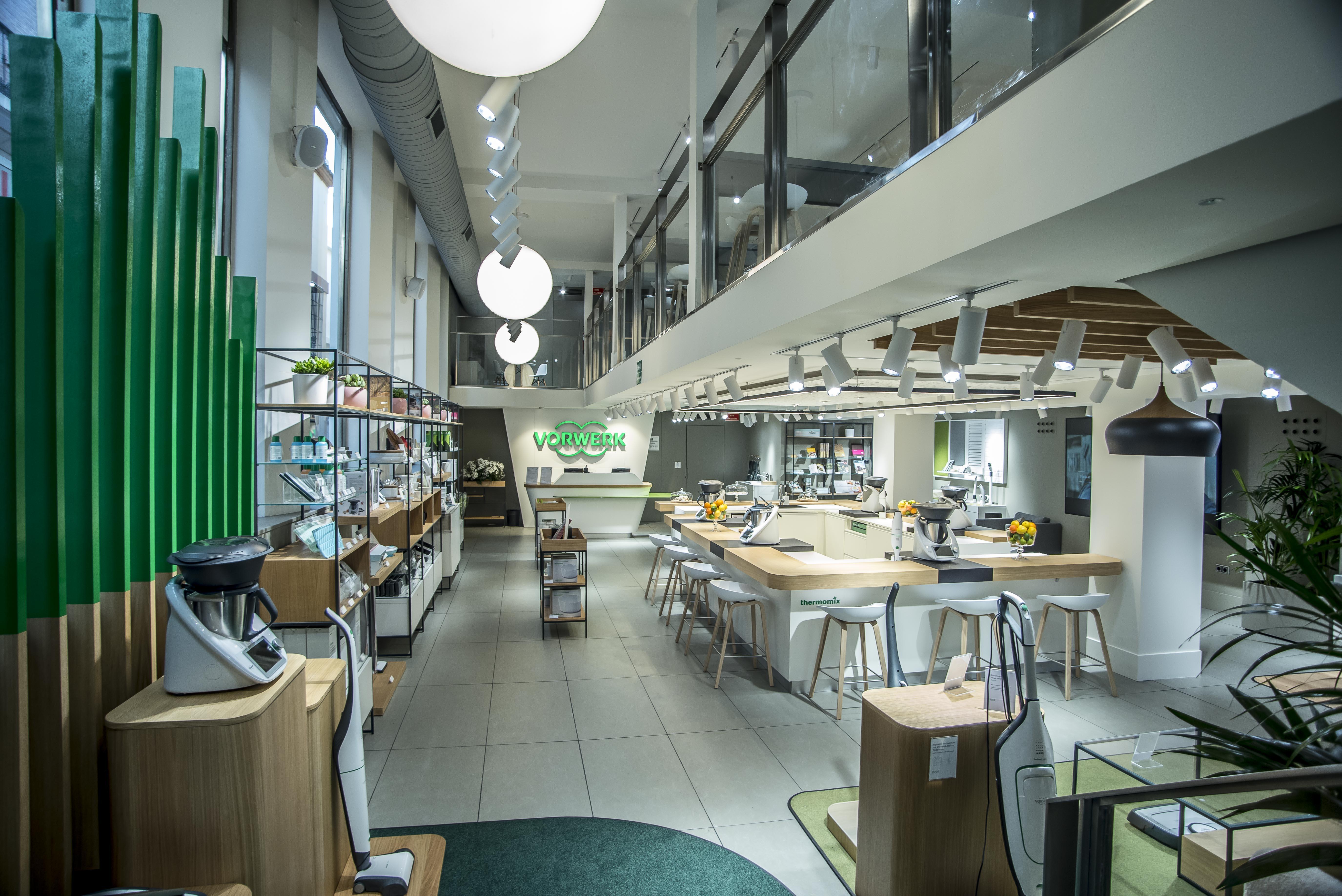 Vorwerk se instala en Sevilla con tienda propia
