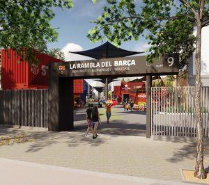 Serunion sustituirá a Eat Out en la explotación de la oferta gastronómica del Camp Nou