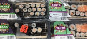 Lidl ya tiene proveedor de sushi y su tamaño es inmenso