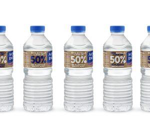Aquadeus apuesta fuerte por la economía circular y presenta su primera botella con r-PET