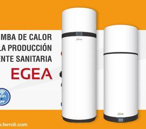 Nueva bomba de calor aire-agua EGEA de Ferroli para ACS