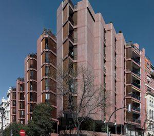 Flexbrick rehabilita la fachada del edificio Girasol en Madrid