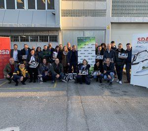 Milar Caslesa visita la fábrica de Ufesa en Vitoria