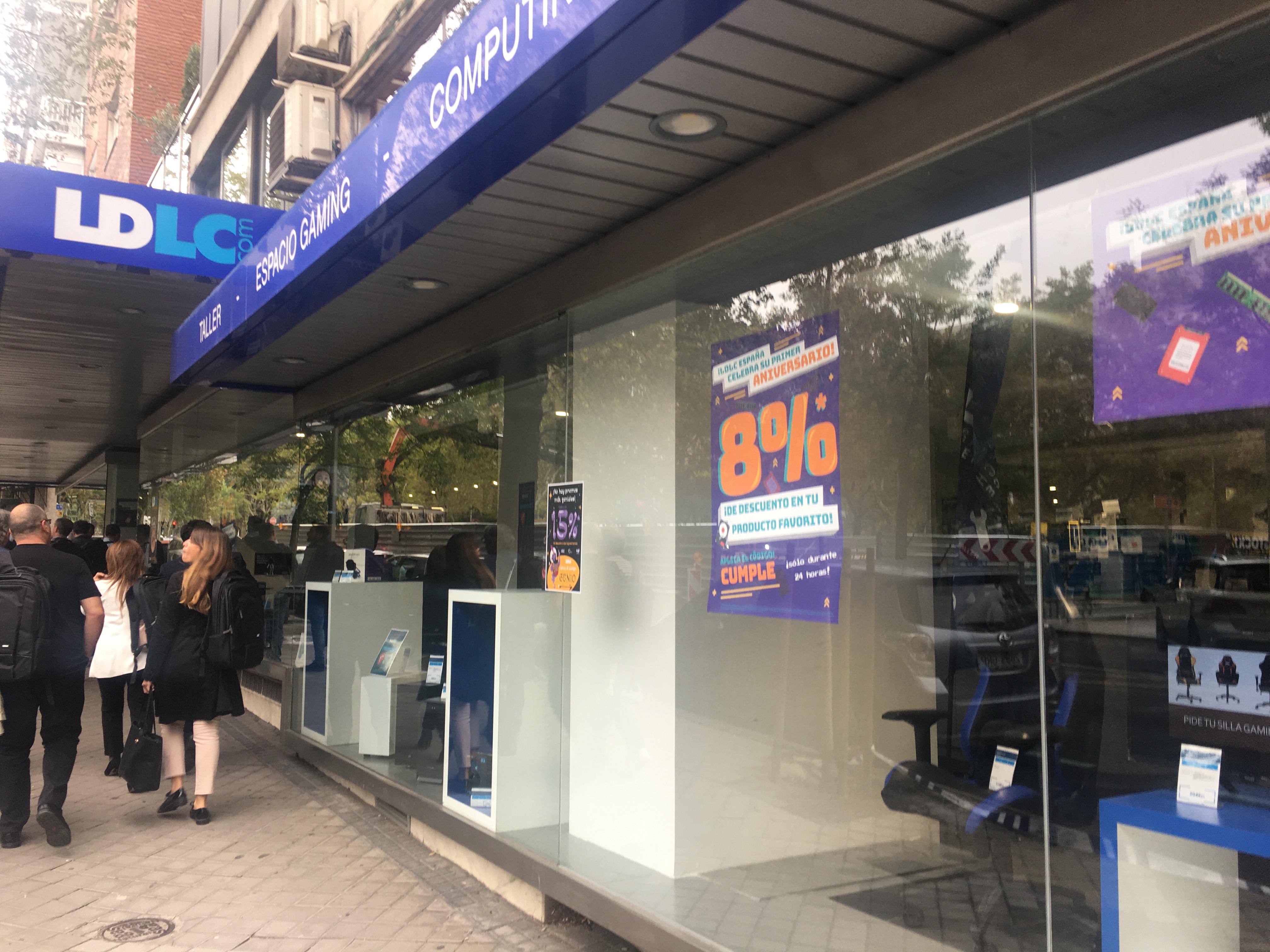 LDLC cesa operaciones en España y cierra sus dos tiendas físicas de Madrid y Barcelona