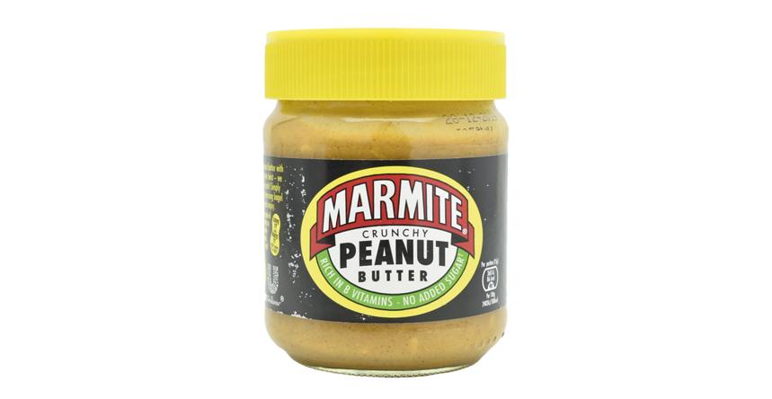 Mantequilla de cacahuete crujiente con vitamina B12 Marmite (6)