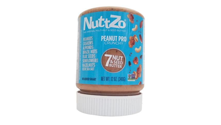 Crema de siete frutos secos y semillas NuttZo Peanut Pro Crunchy (5)