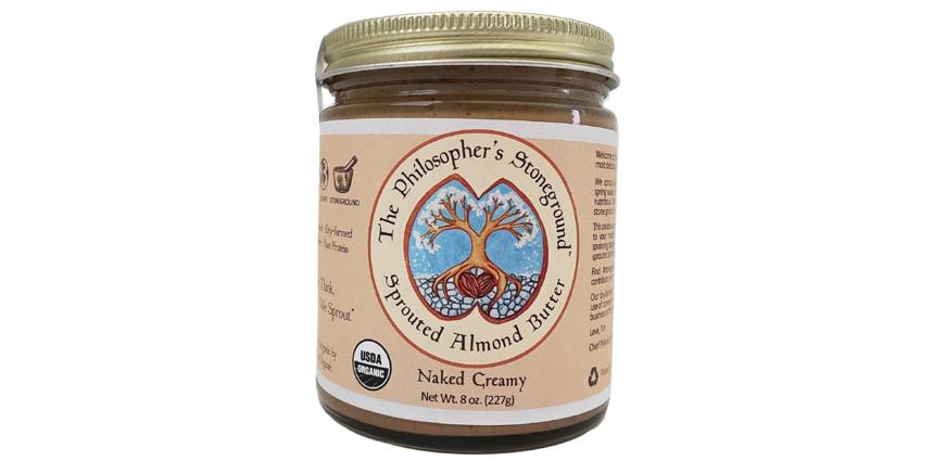 Crema de almendras germinadas The Philosopher's Stoneground (3)