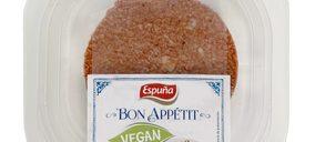 Esteban Espuña incorpora una hamburguesa plant-based