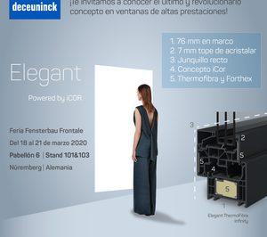 Deceuninck presenta su nuevo perfil Elegant