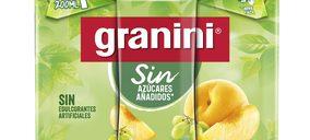 El renovado Granini Sin, ahora en formato on-the-go