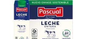 Pascual lleva la sostenibilidad a su brik de leche