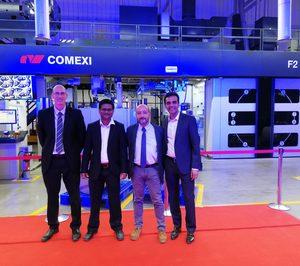 Comexi equipa la nueva planta de Constantia en India