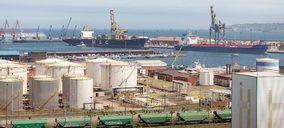 El tráfico portuario español descendió un 2,2% en enero