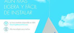 Knauf lanza una nueva placa para techos más ligera y sostenible
