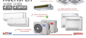 GIA Group refuerza su gama de sistemas Multi Split