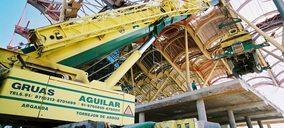 Grúas Aguilar sigue invirtiendo en la renovación de su parque de maquinaria