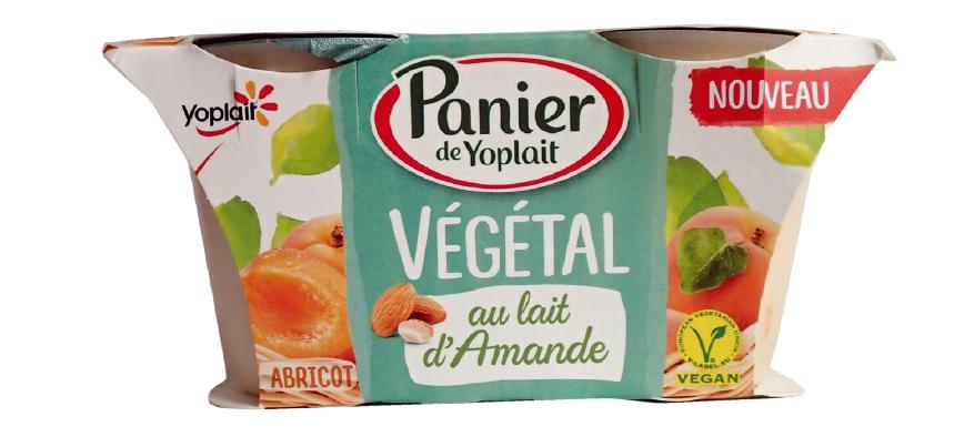 Yogur Panier de Yoplait con leche de almendra y albaricoque (2)