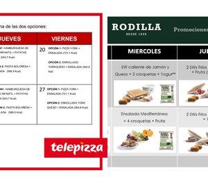 Telepizza y Rodilla comienzan a repartir menús de becas de comedor en la Comunidad de Madrid