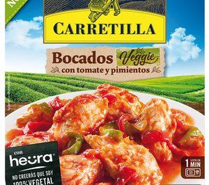 'Carretilla' lanza bocados 'Veggie' con Heura y amplía su gama de platos