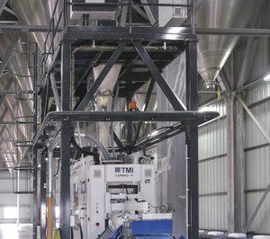 TMI instala una línea de ensacado para Grupo Cobasa