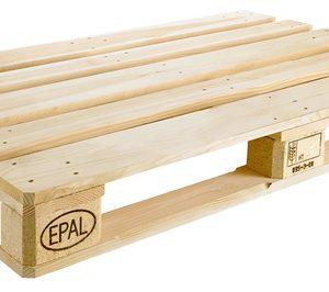 Crece ligeramente la producción europea de palés y palox con sello EPAL