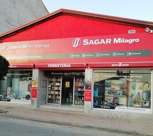 Sagar reinaugurará su ferretería en Navarra