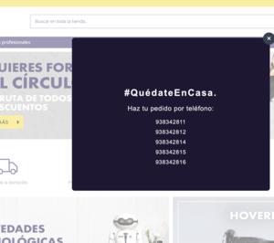 Miró mantiene su operativa online y realiza un ERTE en la red física